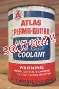 dp-190401-09 ATLAS / 1950's Perma-Guard Anti-Freeze Oil can