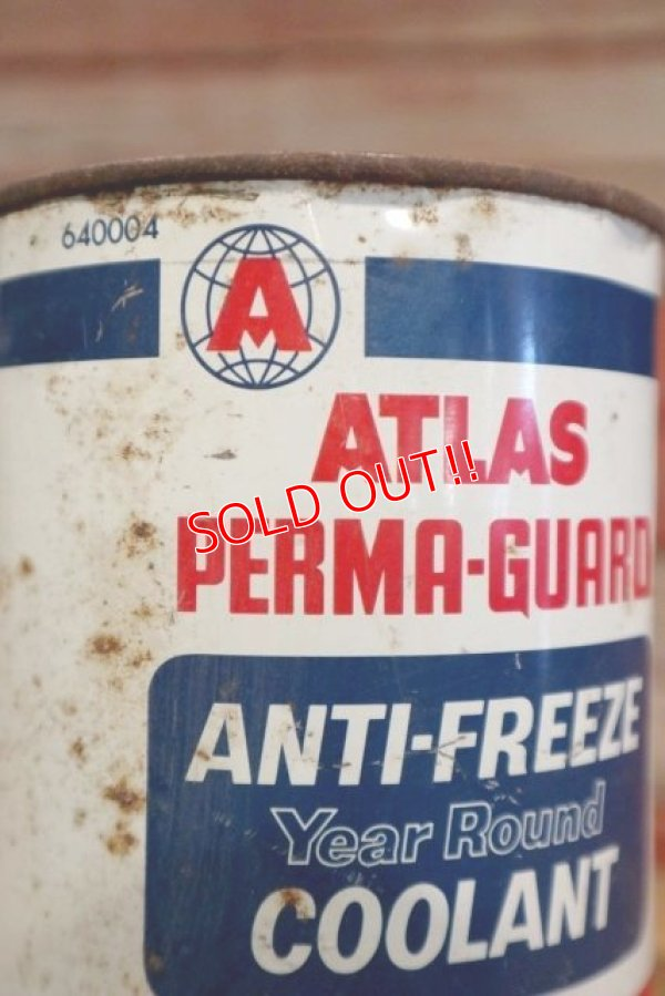 画像2: dp-190401-09 ATLAS / 1950's Perma-Guard Anti-Freeze Oil can