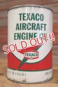 dp-190401-09 TEXACO / 1960's Air Craft Engine Oil Can