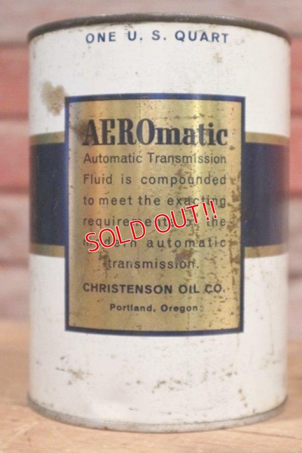 画像2: dp-190401-09 AERO-matic / Automatic Transmission Fluid Can