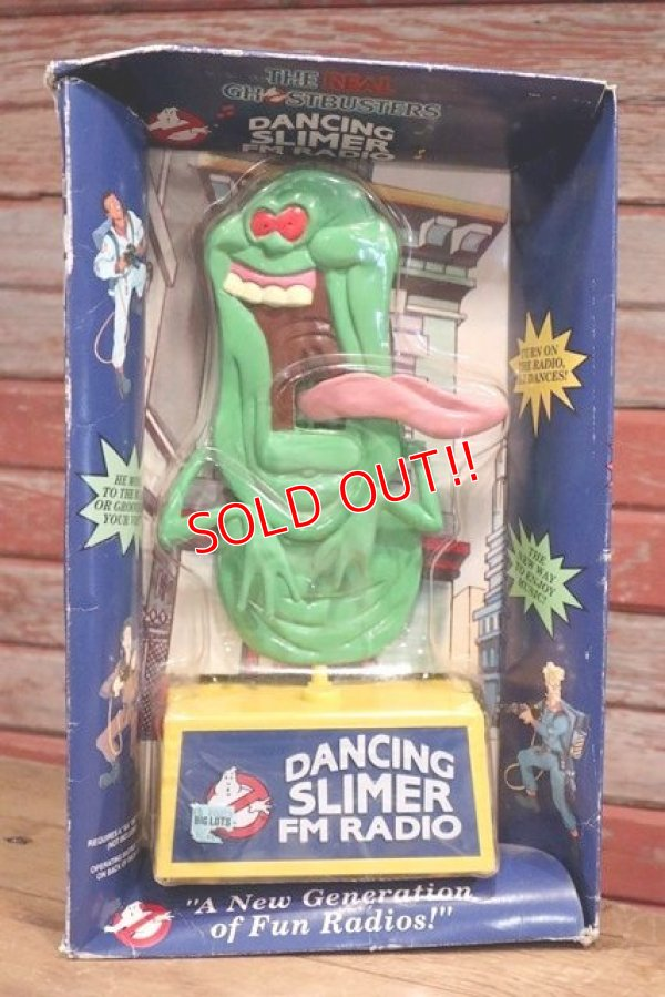 画像1: ct-190501-34 Real Ghostbusters / 1980's Dancing Slimer FM Radio
