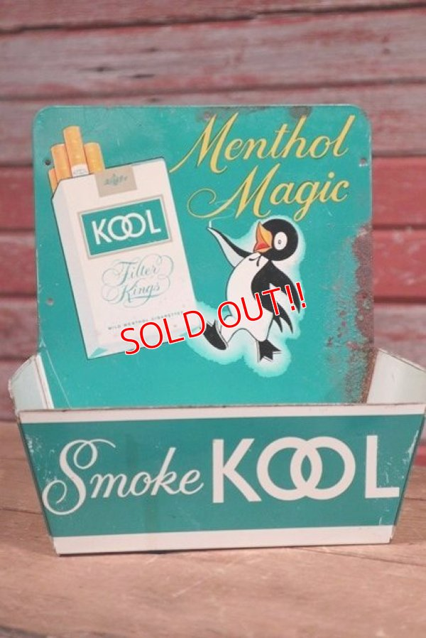 画像1: dp-190508-08 KOOL / 1950's Cigarette Display Match Holder