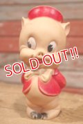 ct-190501-24 Porky Pig / Sun Rubber 1950's Soft Vinyl Doll