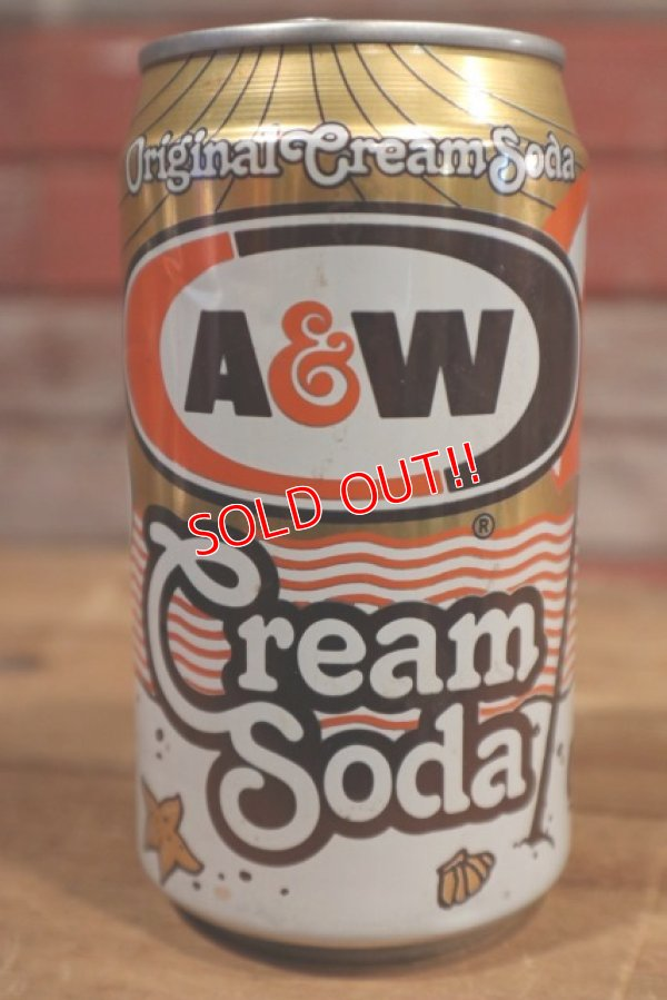 画像2: ct-190501-52 Snoopy / A&W 1990's Cream Soda Can
