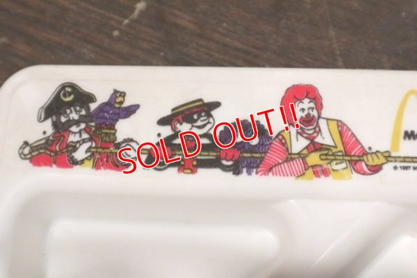 画像2: ct-140506-19 McDonald's / 1980's Plastic Partitioned Tray