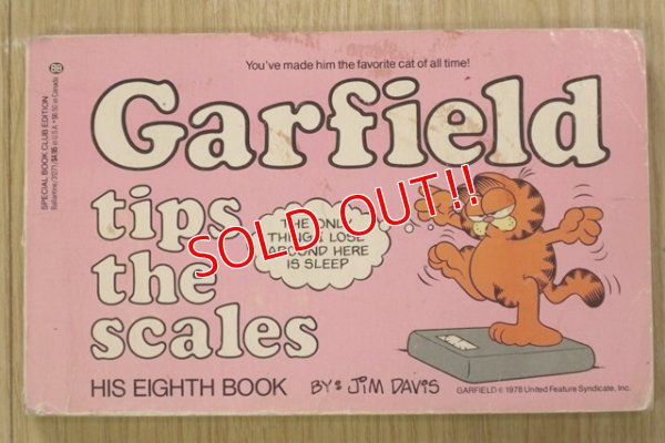 "画像1: ct-190522-03 Garfield / 1980's Comic ""tips the scales"""