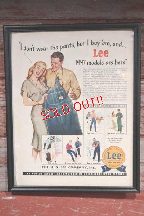 画像1: dp-190601-03 Lee / 1940's Advertisements