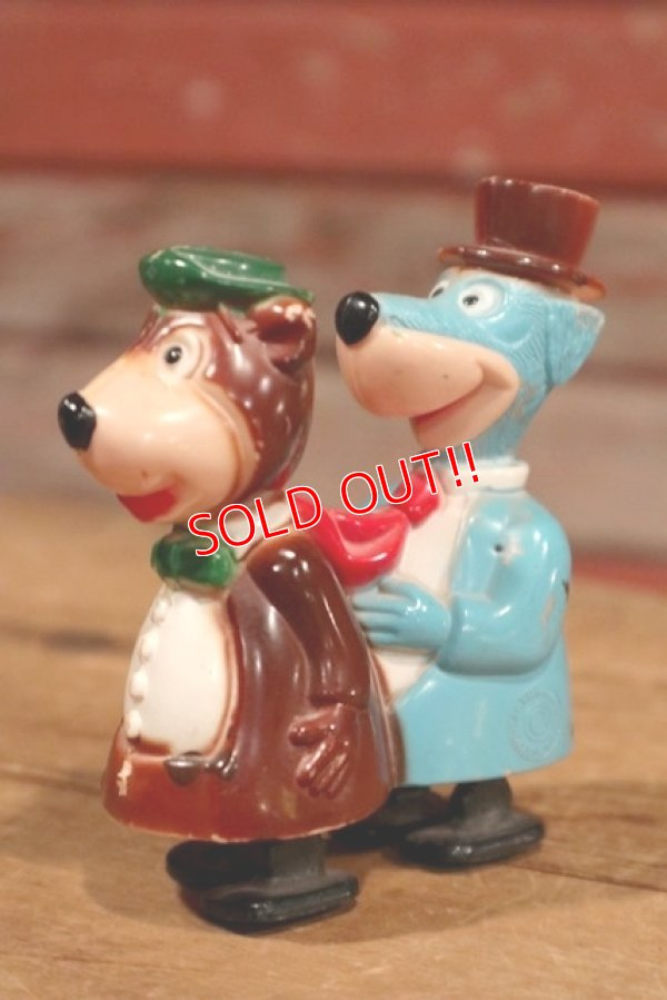 画像1: ct-190605-72 Yogi Bear & Huckleberry Hound / 1950's Ramp Walker