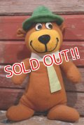 ct-190605-02 Yogi Bear / Mighty Star 1980's Plush Doll