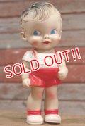 ct-190605-64 Sun Rubber / Ruth E Newton 1950's Boy Squeaky Doll