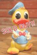 ct-190605-37 Donald Duck / Ledraplastic 1960's Squeaky Doll (S)