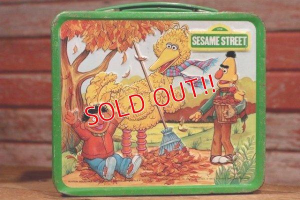 画像1: ct-190605-76 Sesame Street / Aladdin 1983 Metal Lunch Box