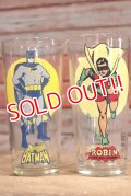 gs-190301-06 BATMAN & ROBIN / PEPSI 1976 Collector Series Glass Set