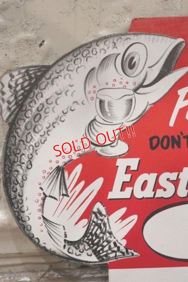 画像2: dp-190601-11 Pabst Brewing / Eastside Beer 1960's Cardboard Sign