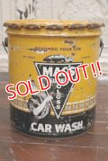 dp-190601-09 MAC'S SUPER GLOSS / 1959 5 U.S.Gallons Car Wash Can