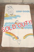 ct-190605-70 Snoopy & Woodstock / Chatham 1970's Blanket