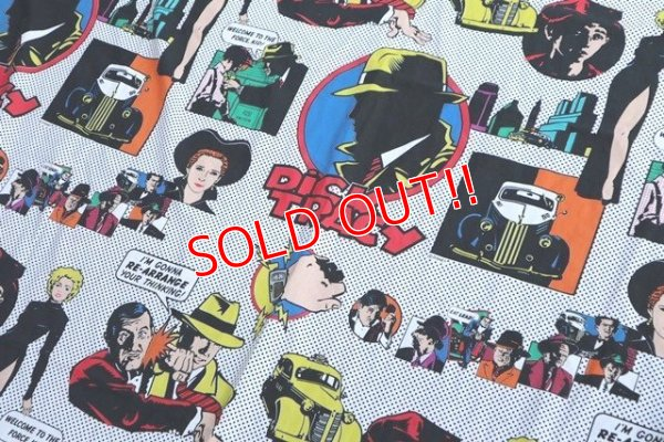 画像2: ct-190605-44 Dick Tracy / 1990's Flat Sheet (Twin)