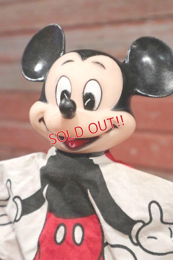 画像2: ct-190605-60 Mickey Mouse / 1970's Hand Puppet