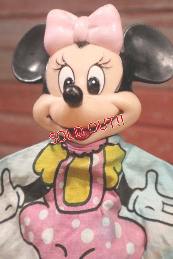 画像2: ct-190605-62 Minnie Mouse / 1970's Hand Puppet