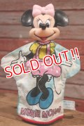 ct-190605-62 Minnie Mouse / 1970's Hand Puppet