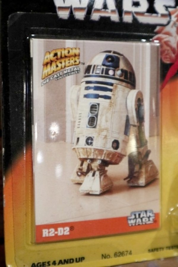 画像3: ct-190701-04 R2-D2 / Kenner 1994 Action Masters Die Cast Figure