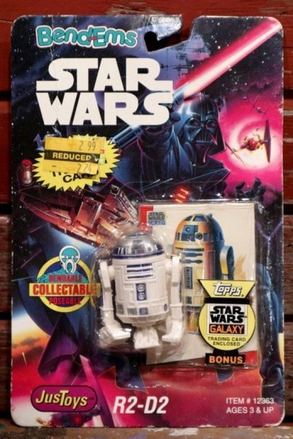 画像1: ct-190701-01 R2-D2 / Just Toys 1993 Bendable Figure