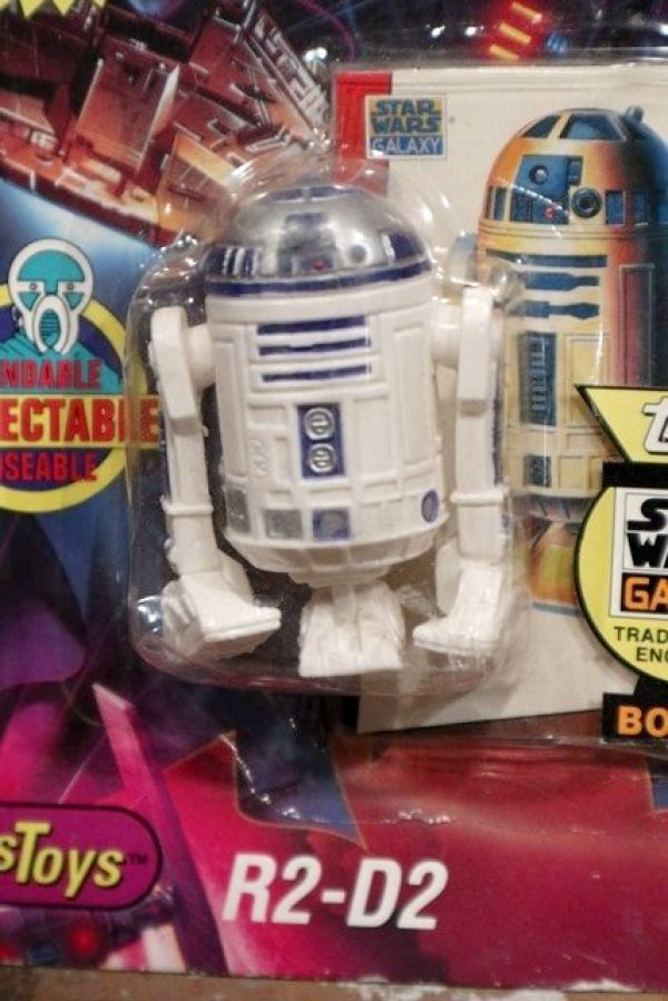 画像2: ct-190701-01 R2-D2 / Just Toys 1993 Bendable Figure