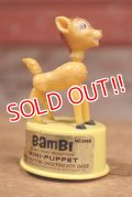 ct-160901-151 Bambi / Kohner Bros 1970's Mini Push Puppet