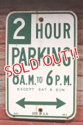"dp-190701-34 Road Sign ""2 HOUR PARKING"""