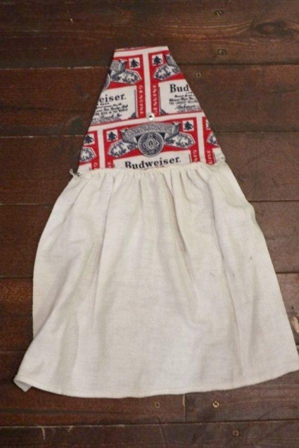 画像1: dp-130116-07 Budweiser / 1970's-1980's Waiter Towel