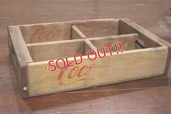 画像1: dp-190701-11 Coca Cola / 1970's Wood Drink Case