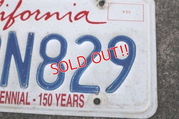 """画像3: dp-190801-03 License Plate """"California"""" (A)"""