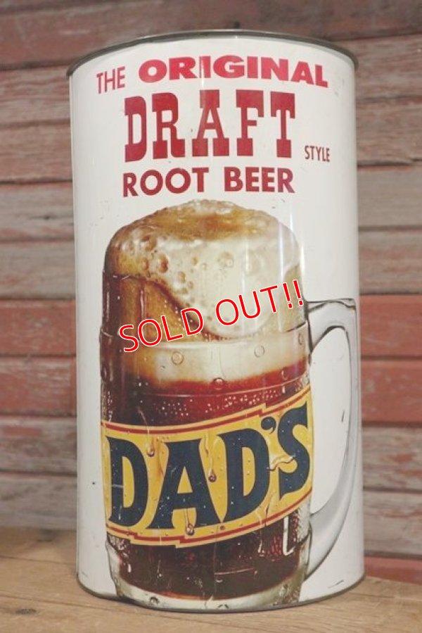 画像2: dp-190801-14 DAD'S ROOT BEER / 1970's Trash Can