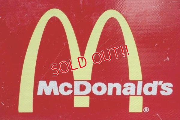 """画像2: dp-190801-40 McDonald's / Road Side Sign """"OPEN 24 HOURS"""""""