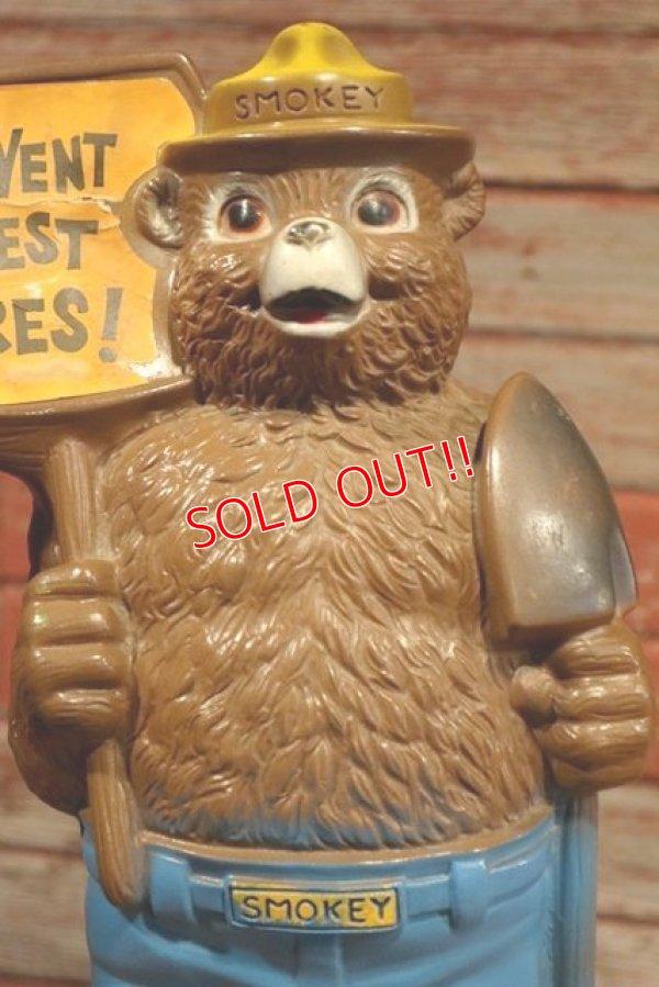 画像2: ct-190801-06 Smokey Bear / 1970's Coin Bank