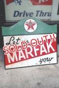 dp-190801-37 TEXACO / 1940's MARFAK W-side Sign