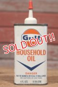 dp-190801-34 Gulf / 1960's〜Household Oil Can