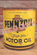 dp-190801-18 PENNZOIL / 1950's 4 U.S.Quarts Motor Oil Can