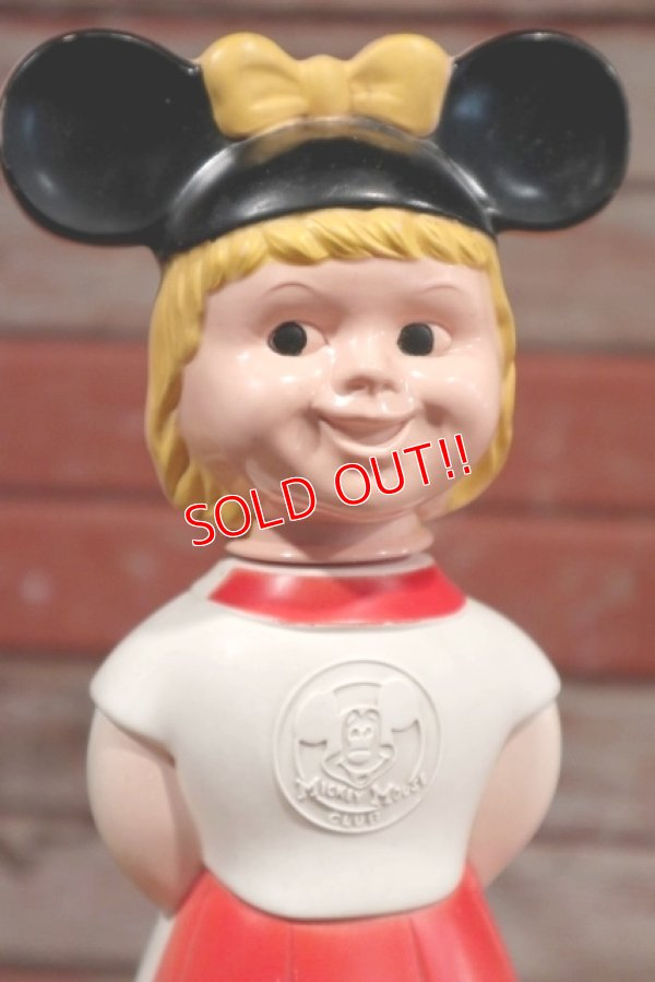画像2: ct-190801-29 Mickey Mouse Club / 1960's Mouseketeer Soaky (Red)