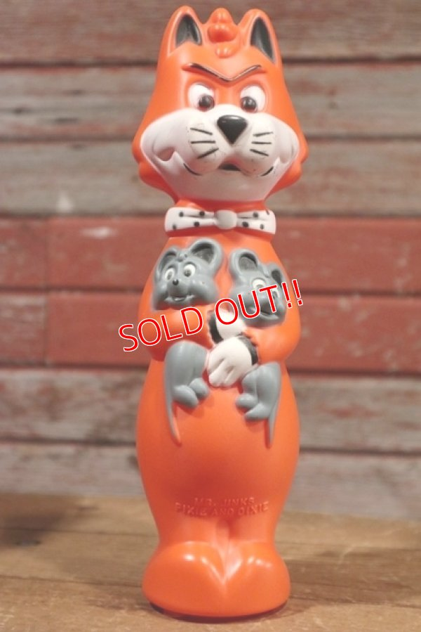 画像1: ct-190801-31 Mr.Jinks,Pixie and Dixie / 1960's Bubble Bath Bottle