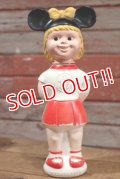 ct-190801-29 Mickey Mouse Club / 1960's Mouseketeer Soaky (Red)