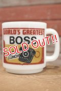 nfk-190801-11 Glasbake / World's Greatest BOSS  Mug