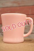 nfk-190801-05 Fire-King / D-Handle Mug Pink