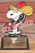 "ct-190801-10 Snoopy / AVIVA 1970's Trophy ""Raindrops Keep Fallin' on My Head"""