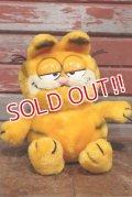 ct-190901-11 Garfield / DAKIN 1980's Plush Doll