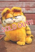 ct-190905-02 Garfield / DAKIN 1980's Plush Doll