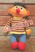 ct-190910-52 SESAME STREET / Ernie 1980's Knickerbocker Doll