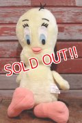 ct-110830-47 Tweety / Mighty Star 1970's Plush Doll
