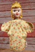 ct-190910-72 Princess Aurora / Gund 1950's Hand Puppet