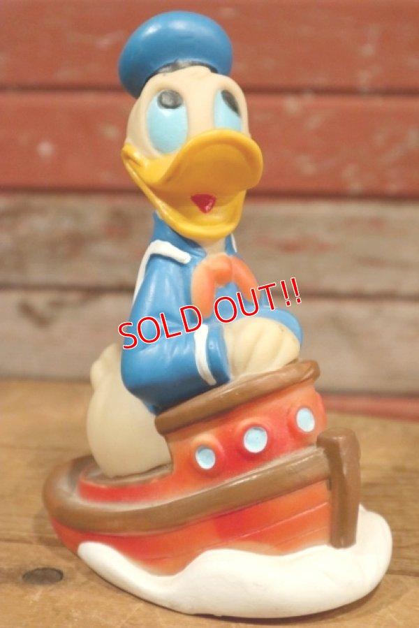 画像1: ct-190905-22 Donald Duck / 1980's-1990's Soft Vinyl Toy